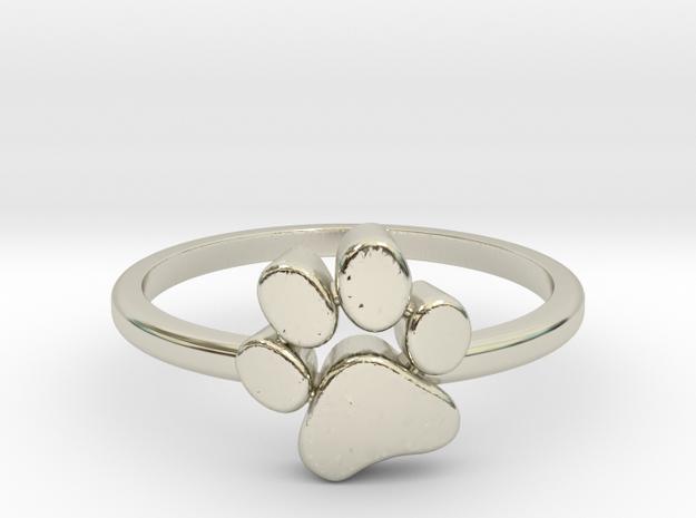 PawPrint Ring  in 14k White Gold