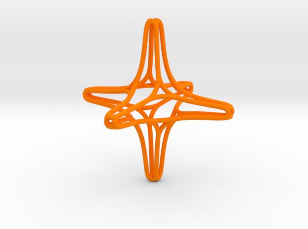 Starskelleton in Orange Processed Versatile Plastic