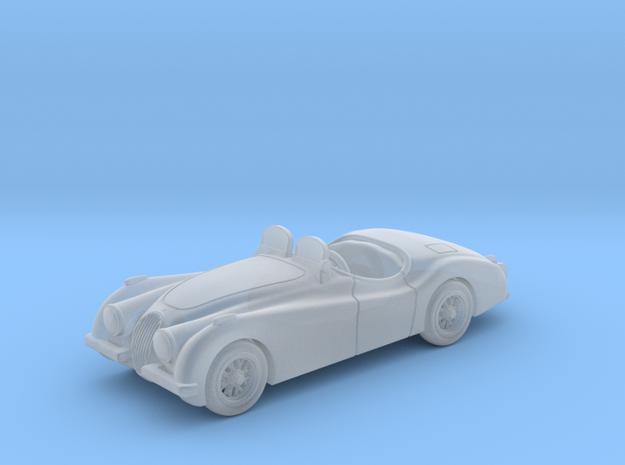 Jaguar XK 120 1950  1:87HO in Smooth Fine Detail Plastic