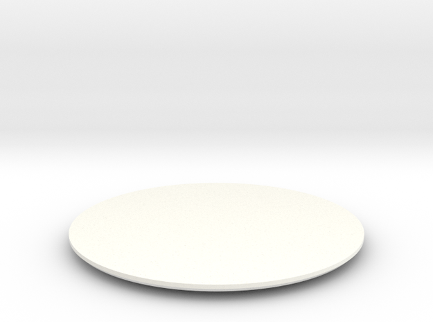 DISC4-WS-2B-BLADE-FWD in White Processed Versatile Plastic