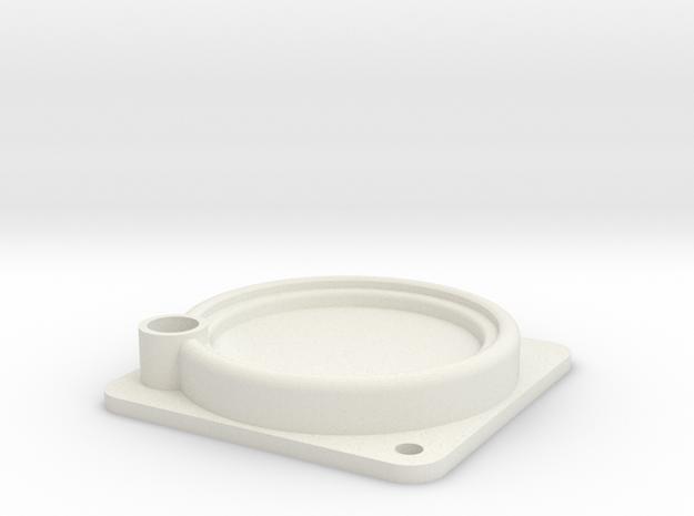 08.04.03.01 Clock Body Rev1 in White Natural Versatile Plastic