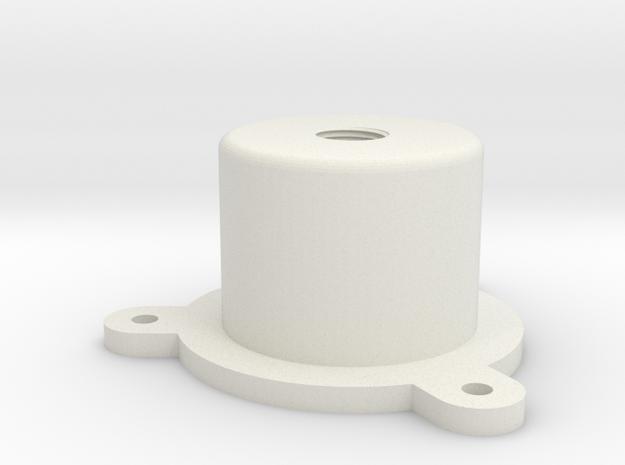 08.04.32.01 Reflector light Body Rev1 in White Natural Versatile Plastic
