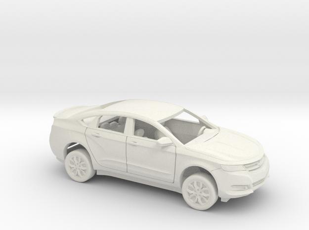 1/25 2013-17 Chevrolet Impala Sedan Custom Kit in White Natural Versatile Plastic