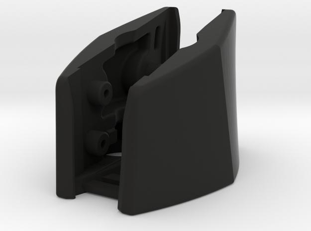 G930, G430 (R&L Outside Bracket Joined) in Black Natural Versatile Plastic
