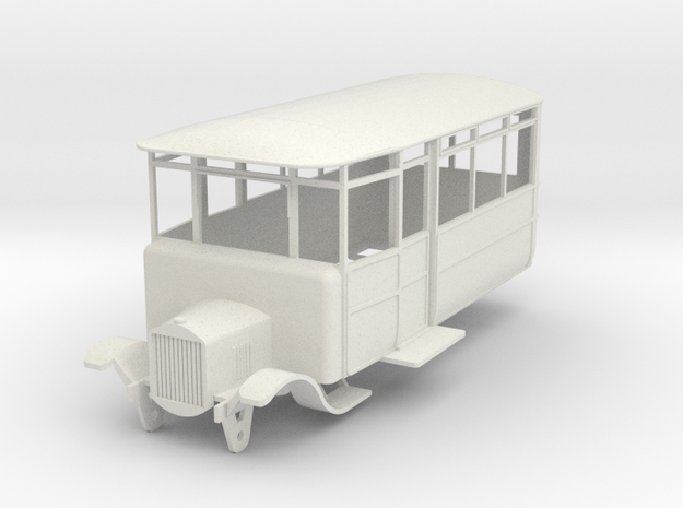 o-50-dv-5-3-ford-railcar in White Natural Versatile Plastic