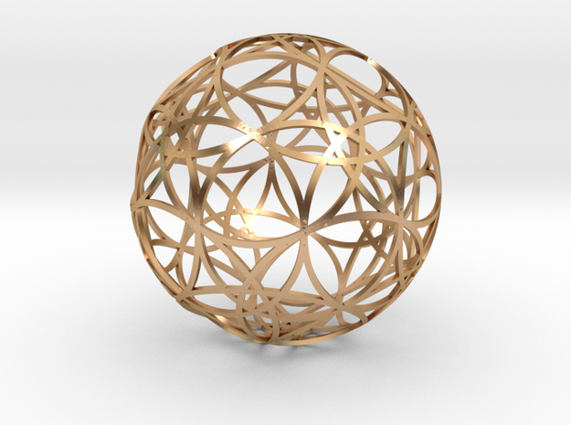 Stripsphere  30 in Polished Bronze