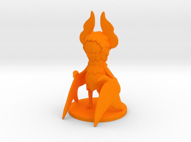 Pumpkin Bat in Orange Processed Versatile Plastic