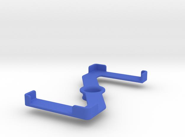 Platform (156 x 79 mm) in Blue Processed Versatile Plastic