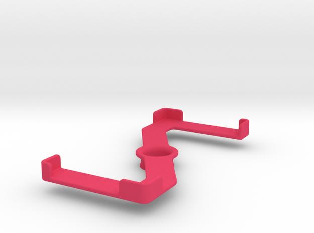Platform (162 x 77 mm) in Pink Processed Versatile Plastic