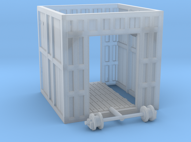 Glacier Gatehouse in Smooth Fine Detail Plastic