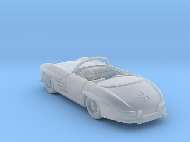 Mercedes 300 SL Convertible  1:120 TT in Smooth Fine Detail Plastic