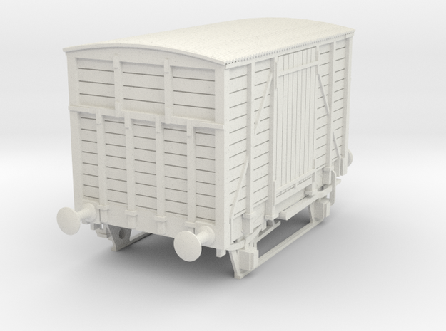 a-43-dwwr-ashbury-13-6-covered-wagon in White Natural Versatile Plastic