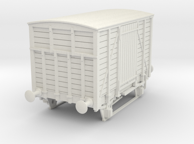 a-50-dwwr-ashbury-13-6-covered-wagon in White Natural Versatile Plastic