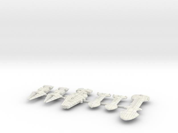 QSR Package: KON versus RPSA (Sprued) in White Natural Versatile Plastic