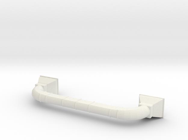 1/87th Baghouse filter Asphalt batch plant vent in White Natural Versatile Plastic