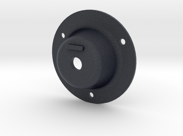 Dimmer Mount for Rotary Dimmer Switches in Black PA12