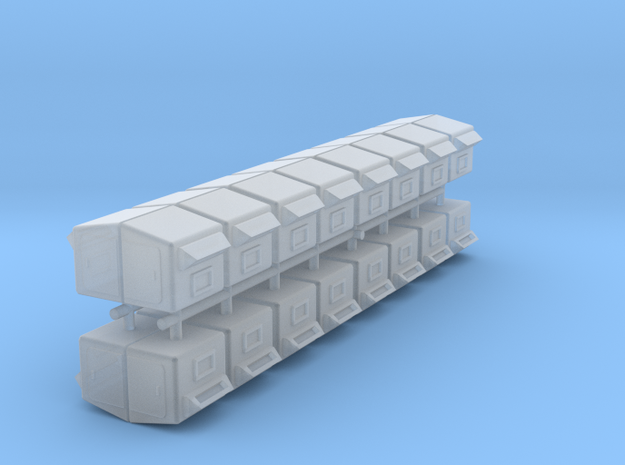 boite au lettre poste Belge petit modèle HO 32 pie in Smooth Fine Detail Plastic: 1:87 - HO