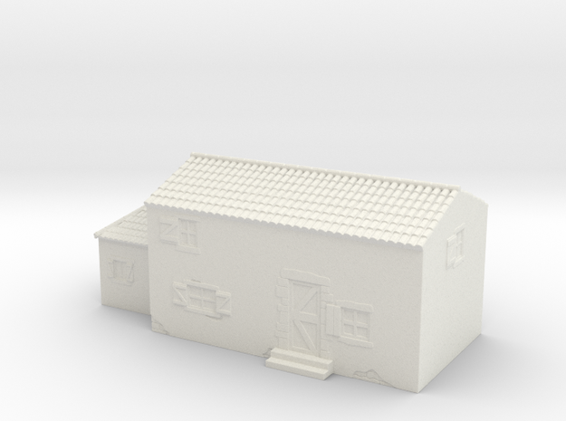 Italian style house 1/120 in White Natural Versatile Plastic