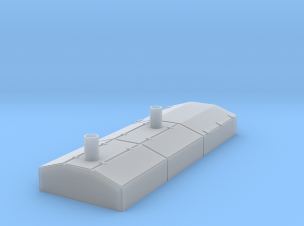 O Scale EMD Switcher Hood in Smoothest Fine Detail Plastic