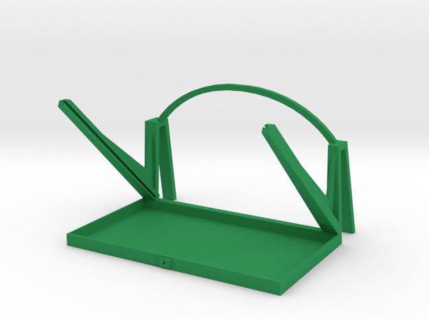 3D Prompter in Green Processed Versatile Plastic