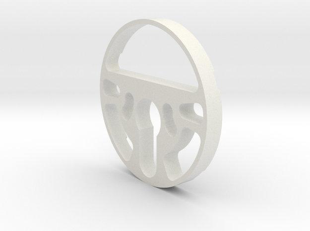 August Smart Lock Pro 8 mm spacer in White Natural Versatile Plastic