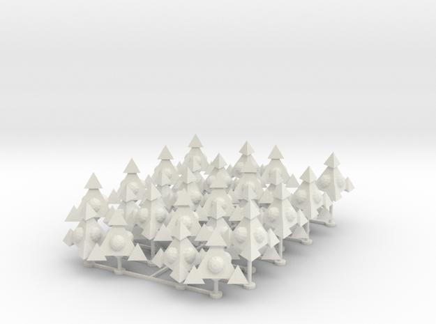 Minas Semilla de Muerte  in White Natural Versatile Plastic