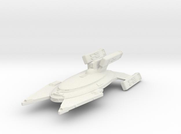 3788 Scale Vudar Heavy War Destroyer MGL in White Natural Versatile Plastic