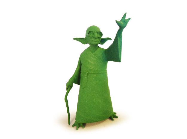 YoGandhi in Green Strong & Flexible Polished