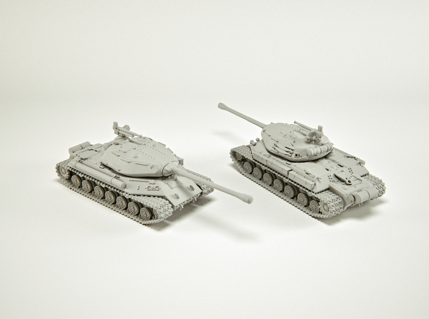 IS-4 Heavy Tank Scale (custom): 1:200 in Smooth Fine Detail Plastic