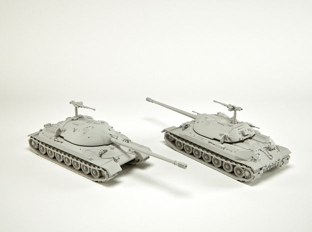 IS-7 Heavy Tank Scale: 1:144 in Smooth Fine Detail Plastic