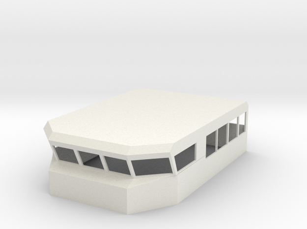 1/48 Armidale Bridge Only in White Natural Versatile Plastic