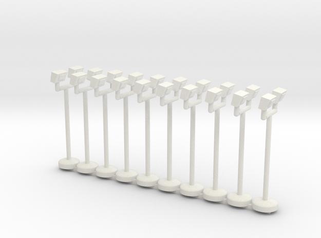 spinridelights fixedplus4more in White Natural Versatile Plastic