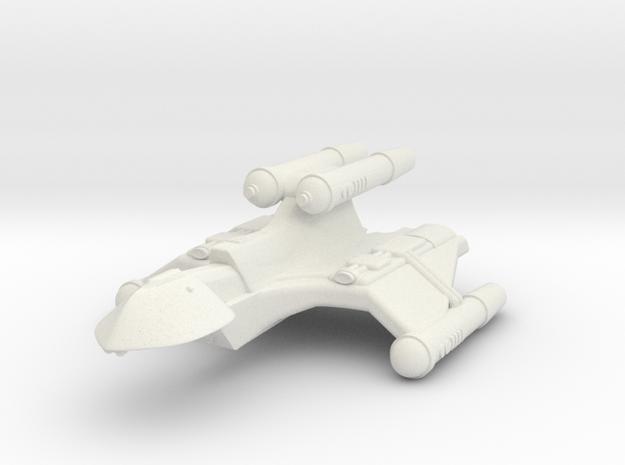 3788 Scale Romulan FlameHawk+ Mauler MGL in White Natural Versatile Plastic