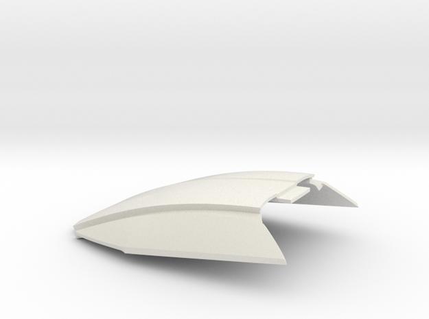 1:32 LTM Windshield (for LTM Slot Car model) in White Natural Versatile Plastic