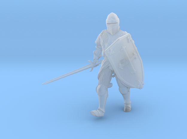 Knightly Advance V2 in Smooth Fine Detail Plastic