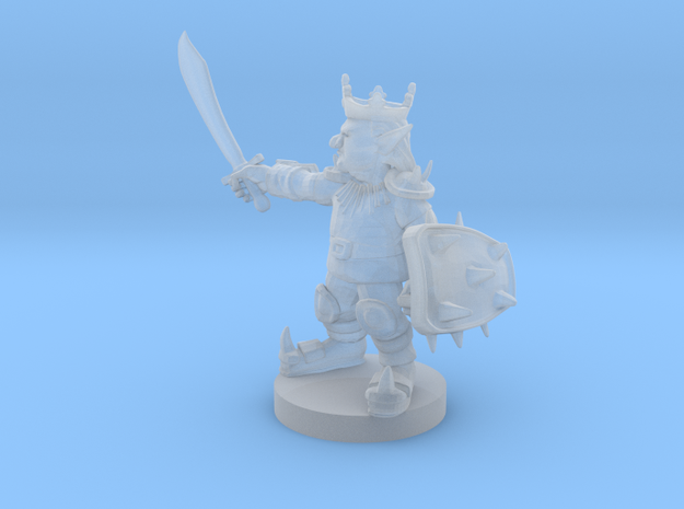 Goblin King in Smooth Fine Detail Plastic