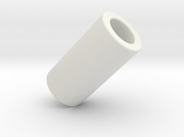 1:1 Apollo RCS Fuel Solenoid Attach Spacer in White Natural Versatile Plastic