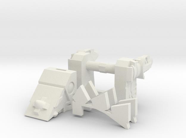 Titans Return Shuffler-to-Slugfest Kit in White Natural Versatile Plastic