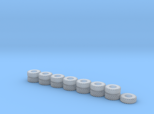 1:160/N-Scale Tires in Smooth Fine Detail Plastic