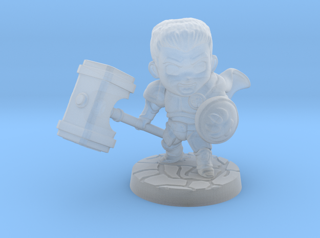 Discord Paladin in Smooth Fine Detail Plastic