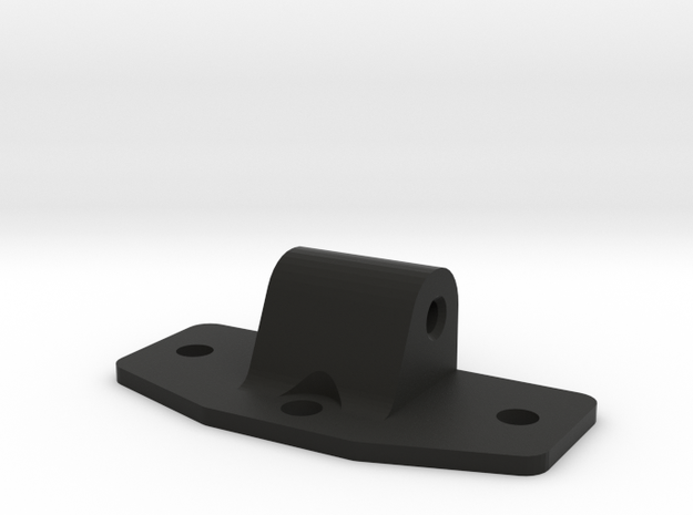 UTA002 Trailing Arm front Flange in Black Natural Versatile Plastic