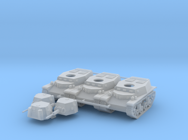 Marmon-Herrington CTMS 1TB1 pack of 3 in Smooth Fine Detail Plastic: 1:100