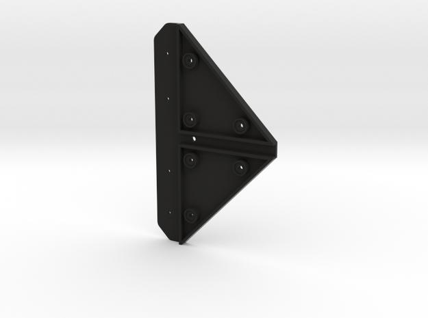 UDB002 Drawbar lower Part in Black Natural Versatile Plastic