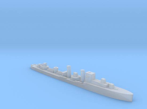 HMS Codrington 1:3000 WW2 destroyer in Smoothest Fine Detail Plastic
