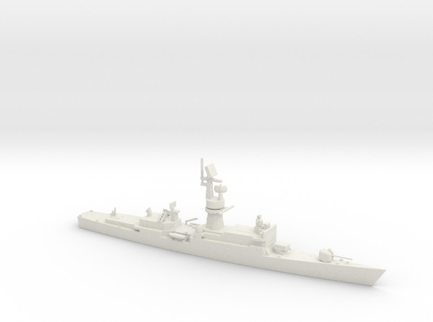 1/600 Scale Baleares class Missile Frigate Modifie in White Natural Versatile Plastic