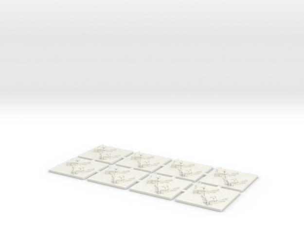 Helldrake in White Natural Versatile Plastic