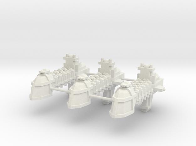 Carguero Armado  in White Natural Versatile Plastic