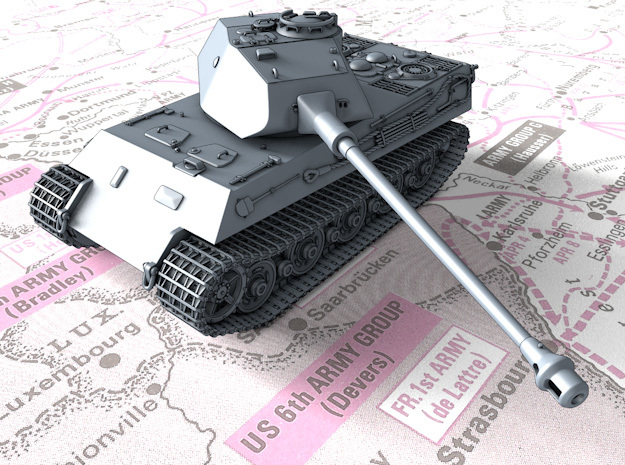 1/72 German VK 45.03 (H) Heavy Tank in Smooth Fine Detail Plastic
