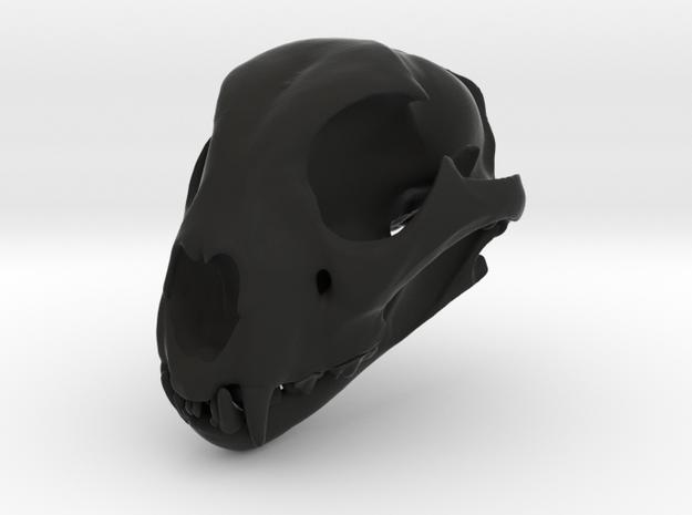 cheetahfinalreduced2 in Black Premium Versatile Plastic