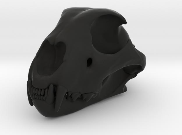 cheetahfinalreduced12 in Black Premium Versatile Plastic